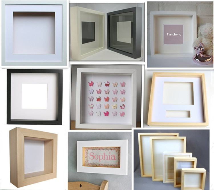 Shadow Box Frame Wholesale 6x6 8x8 10x10 12x12 14x14 16x16 18x18