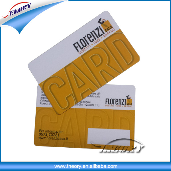 Professional hot-sale loyalty card credit card