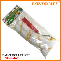 "5pcs4"" 10CM brush set supermarket sells painting kits paint roller set"