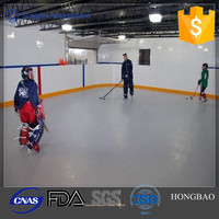 artificial ice hockey rink boards/skating rink floor/ice hockey plastic board