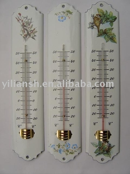 Hot Sales Houselhold ROom Metal Wall Thermometer