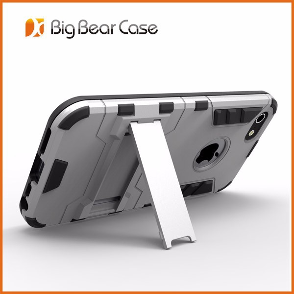 Luxury slim armor hybrid bumper case for iphone 5