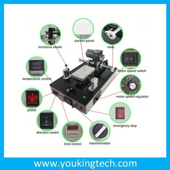 High Efficiency AUTOMATIC LCD SEPARATOR Machine For iPhone 4 4s 5 And Samsung