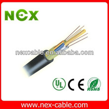 Layer Stranded GYFTY Multi Core Optical Fiber Cable