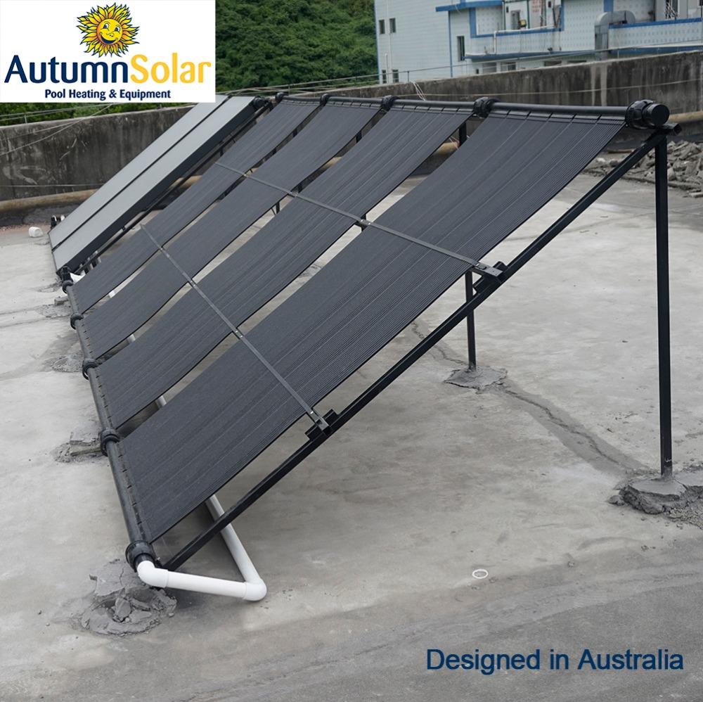 Eco Friendly Rigid Plastic Solar Water Heater Swimming Pool Buy Solar Water Heater Swimming