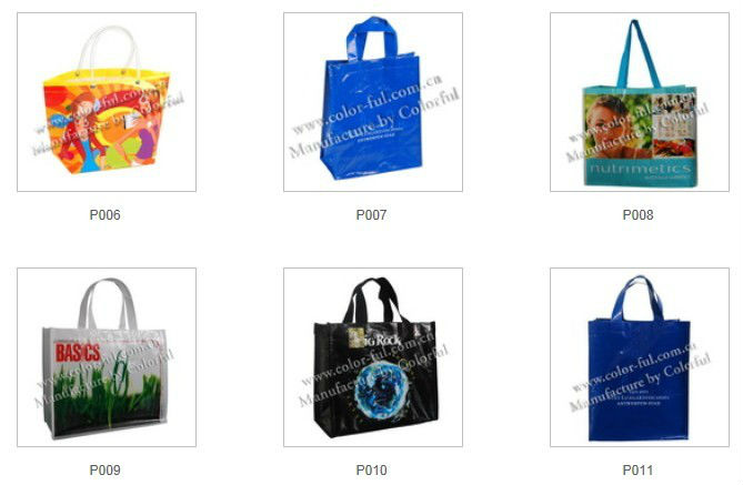 Sedex audit customized laminated pp woven bag