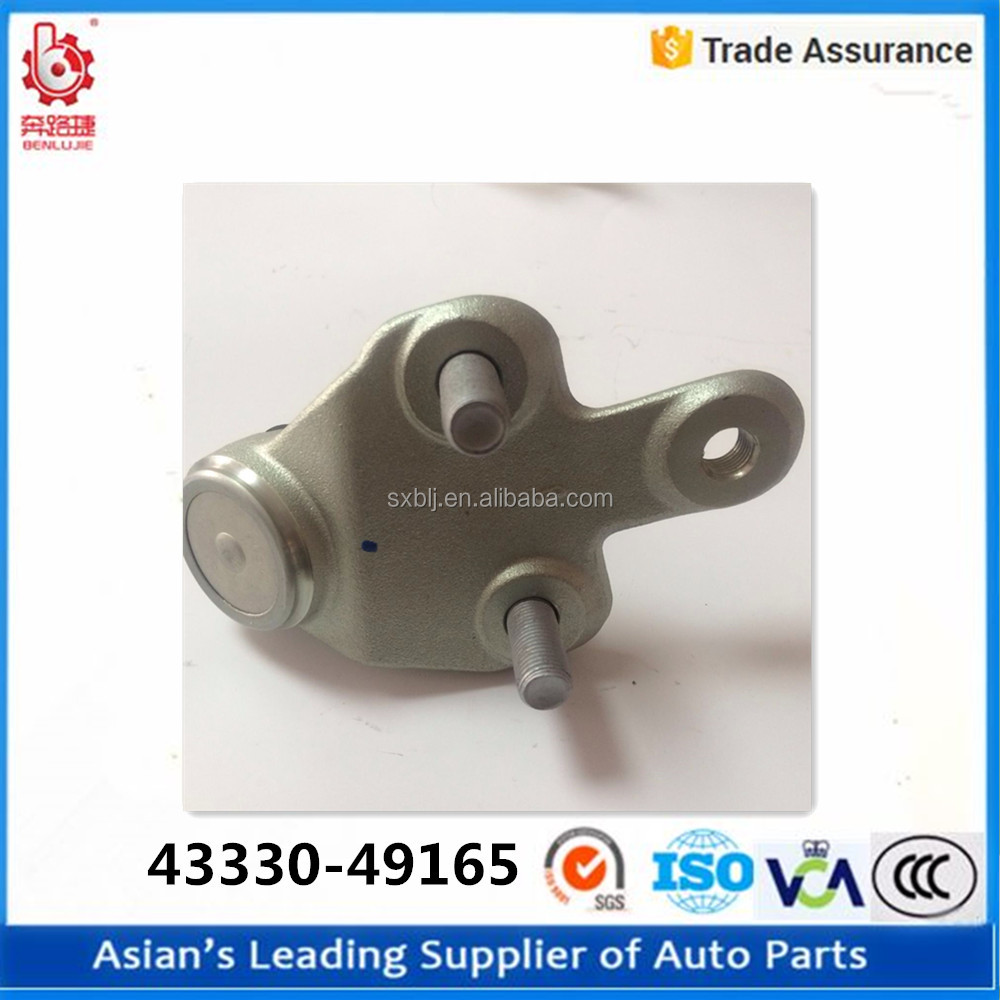 china supplier ball joint repair machine oem 43330-49165 shower head ball joint for TOYOTA HIGHLANDER CAR