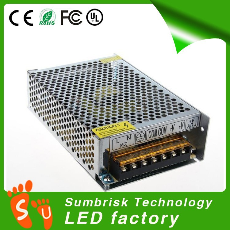 Hot sale high quality single output 24v 8a switch power supply
