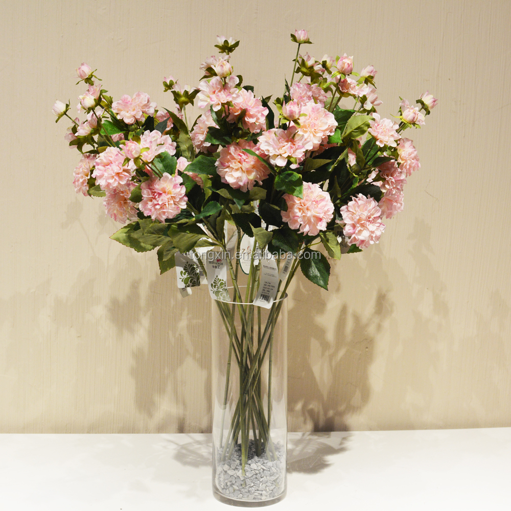 Artificial Zinnia Wholesale Wedding Decoration Table