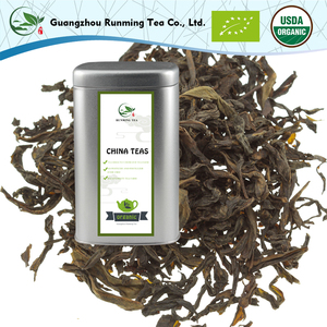 Organic Medium-roasted Chinese Famous Da Hong Pao Big Red Robe Tin Bag package Vacuum Pack Food Grade Flavor Oolong Tea