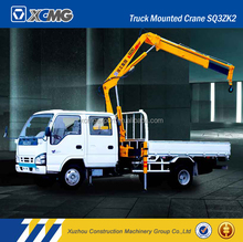 XCMG official manufacturer used SQ3.2ZK2 mini telescopic boom truck mounted crane