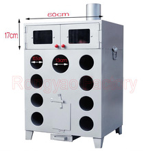 9 Hole thicken and double layers corn grilled machine charcoal or wood roasted sweet potatoes Oven machine