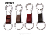 Custom stainless steel key chain leather for car