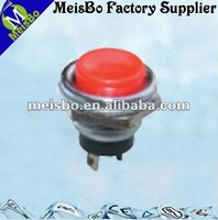 IP65 two pin press open oven pushbutton switch