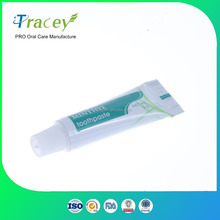 OEM ODM disposable hotel toothpaste cheap mint mini bulk toothpaste for travel