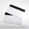 Blank design 20pt plastic business cards pre printed PVC cards