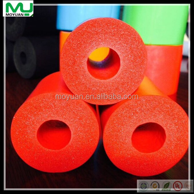 Nbr Pvc Flexible Hollow Rubber Foam Thermal Insulated Pipe