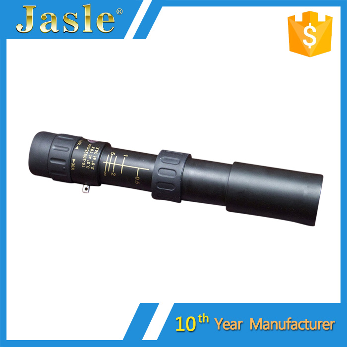High Power Zoom Optical Monocular Telescope 10-30x25 Day and Night Vision Telescope Adjustable Focus Monocular