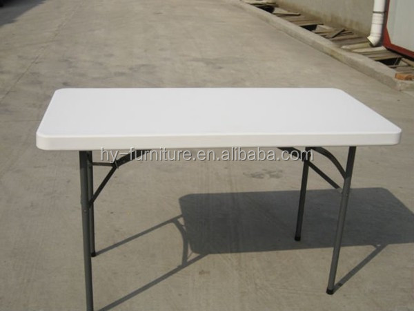 Outdoor folding plastic dining table hy c123 buy outdoor - Plastic folding dining table ...