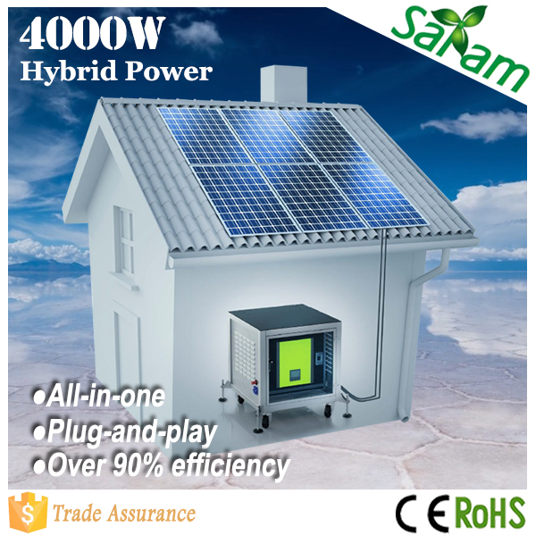 Top selling off-grid 5kw home solar system with high efficiency