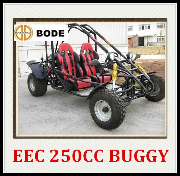 Cheap EEC 250cc dune buggy two seat go kart(MC-412)