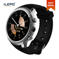 "TFT 1.3"" round touch screen 460mAh heart rate 3G wifi GPS android smart watch"