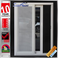 Australia AS2047 standard 10years warranty commercial aluminum sliding window screens with mosquito netting