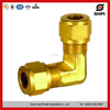 High Quality Brass Pipe Fitting elbow union 90 degree elbow npt male