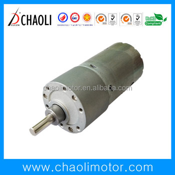 High Torque Low Current Gear Motor CL-G37-RS545 With Reduction Gear Box For Electric Windows and Cordless Power Tool