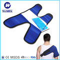 Reusable Flexible Gel Ice Pack Wrap with Elastic Strap for Hot Cold Therapy cold compress