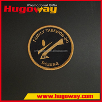 Custom High Quality 2D/3D embroidery patch,2d/3d embroidered patch 2016