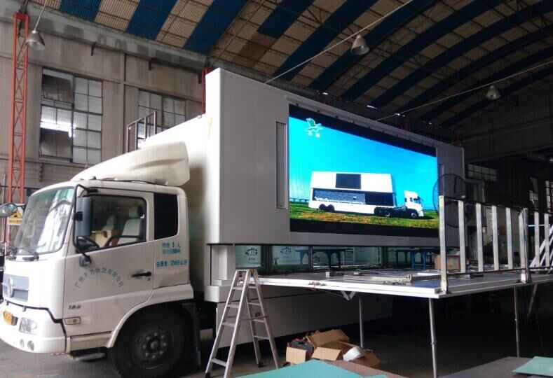 China professional led display factory outdoor advertising mobile LED display screen
