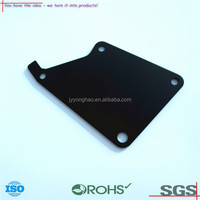 OEM ODM black anodized non-standard 6083 aluminum metal stamping