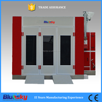 2016 first choice CE approved car paint cabin/spray booth for wood/spray booth