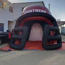 Football sports decoration tunnel event inflatable sports helmet