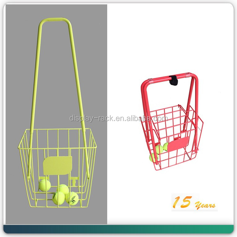 metal powder coating flexible Transport Storage Tennis Ball Cart
