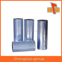 best selling product PVC film blue plastic shrink wrap film for food packaging