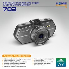 hot kome 702 hd car camera kit digital car video recorder mini dash cam ambarella a7 secure-eye-cctv-cameras new 2014
