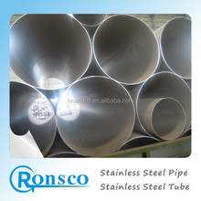 astm a312 t304/304 seamless stainless steel tube/pipe 2mm standard length