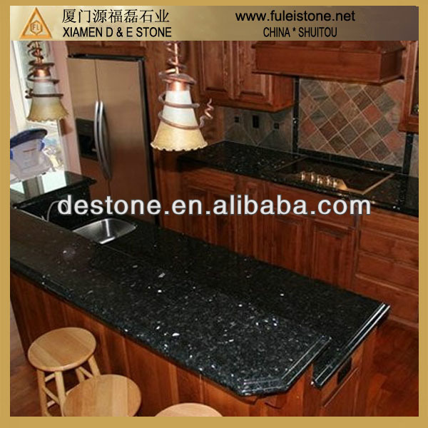 Hot sale Emerald Pearl granite kitchens pictures
