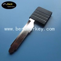 Topbest replacement key shell for valet key for smart card key shell