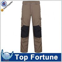 Provide OEM service unisex gardening pants with knee pads
