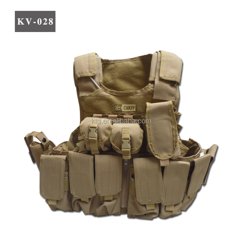 Military Tactical Protective Vest, for Outdoor and Army