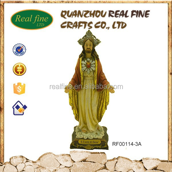 Resin material crafts christian statues JESUS for sale