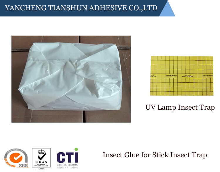Insect glue for indoor uv lamp insect trap