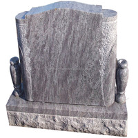 Cheap Polished Bahama Blue Grave Monuments