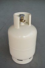 9kg orange lpg gas tank/cylinder for comping export of Africa