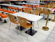 Cheap restaurant Tables / KFC table / fast food table and chairs,solid surface restaurant Table with Chairs,coffe table
