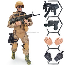 12'' Special Forces 1 6 military soldier Action Figure doll - Digital Desert Camouflage