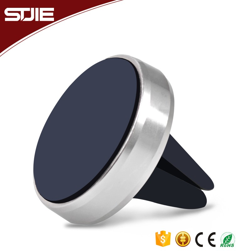 Magnet 360 Rotating magnetic cell mobile phone holder Magnetic Car Mount Metal stand cell phone holder